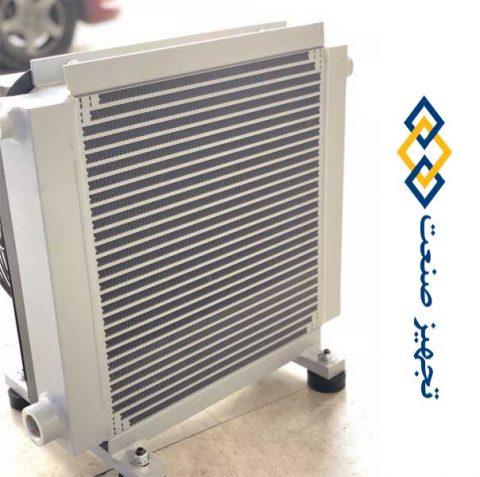 رادیاتور هیدرولیک فن دار
