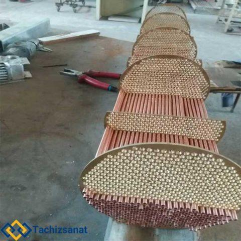Cooling water heat exchanger